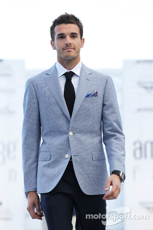 Jules Bianchi, Marussia F1 Team no Amber Lounge Fashion Show