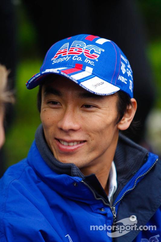 Takuma Sato, A.J. Foyt Enterpsurge Honda