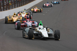 Ed Carpenter, Ed Carpenter Racing Chevrolet lidera la primera vuelta