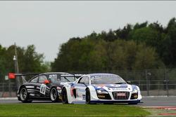 #41 Sainteloc Racing Audi R8 LMS Ultra: Claude-Yves Gosselin, Pierre Hirschi, Marc Sourd