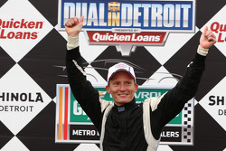 Race winner Mike Conway, Dale Coyne Racing Honda