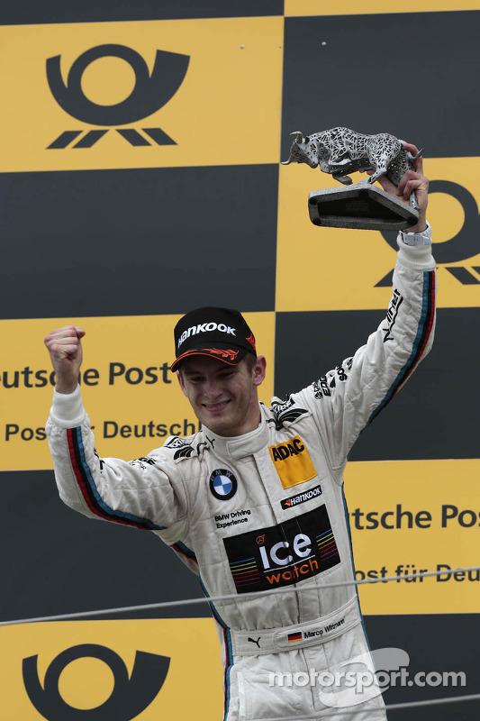 Segundo colocado Marco Wittmann, BMW Team MTEK BMW M3 DTM