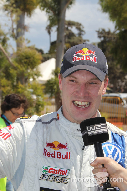 Vencedor Jari-Matti Latvala, Volkswagen Polo WRC, Volkswagen Motorsport