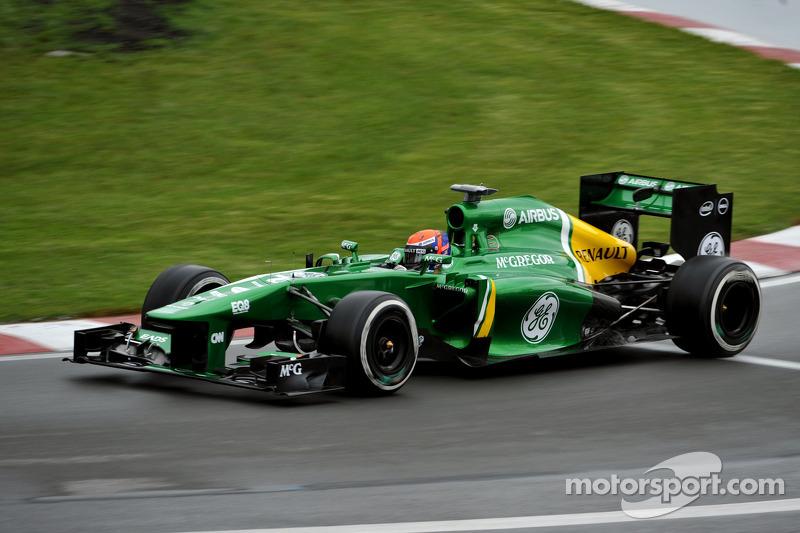 Alexander Rossi, Caterham F1 Team