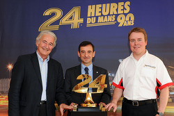 Hugues de Chaunac (ORECA), Pierre Fillon (ACO) et Bart Hayden (Rebellion)