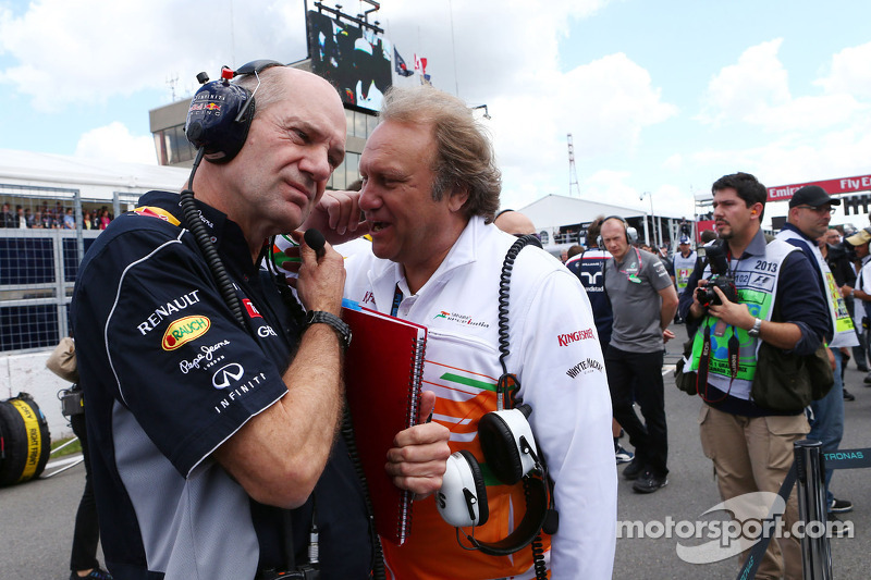 Adrian Newey, Red Bull Race en Bob Fernley, Force India F1 Team