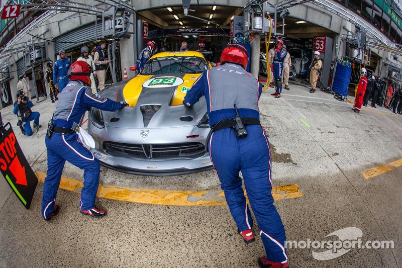 #93 SRT Motorsports Viper SRT GTS-R: Jonathan Bomarito, Tommy Kendall, Kuno Wittmer, Marc Goossens