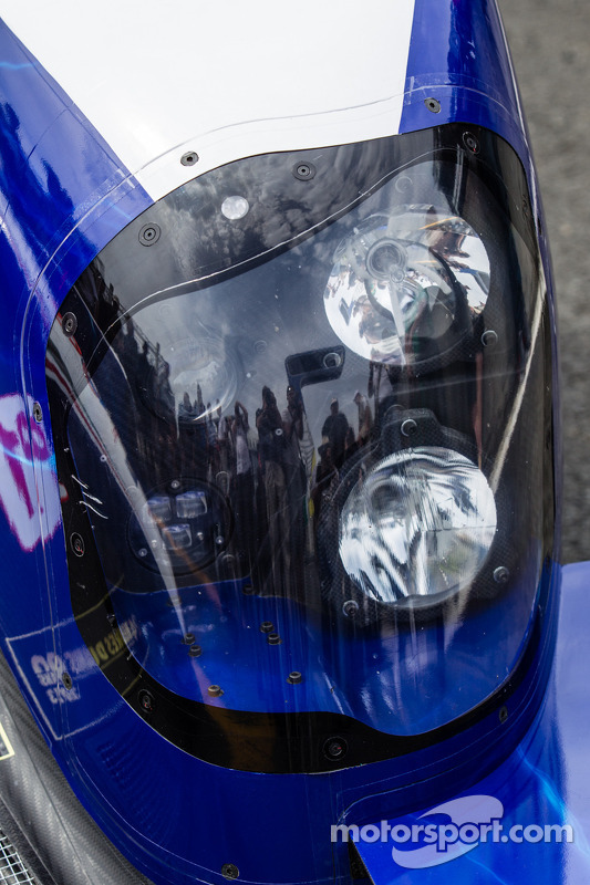 Detalhe do #7 Toyota Racing Toyota TS030 Hybrid
