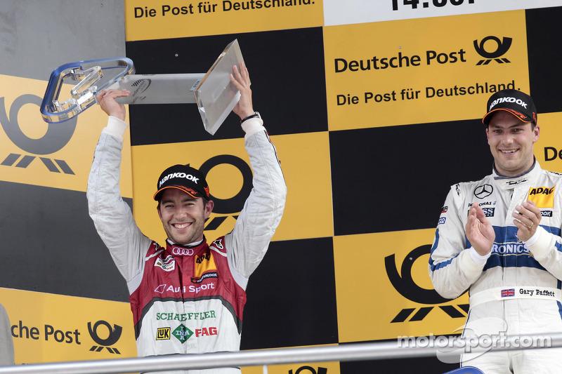 2e plaats Mike Rockenfeller, Audi Sport Team Phoenix Racing Audi A5 DTM