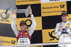 2nd Mike Rockenfeller, Audi Sport Team Phoenix Racing Audi A5 DTM