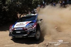 Elfyn Evans and Giovanni Bernacchini, Ford Fiesta WRC