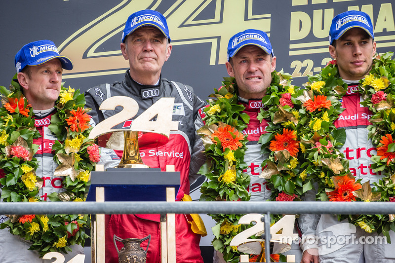 2013: Tom Kristensen, Allan McNish, Loic Duval
