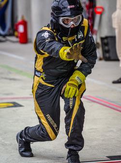 Rebellion Racing team member