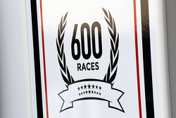 Williams celebrating 600 Grands Prix