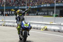 Race winner Valentino Rossi, Yamaha Factory Racing