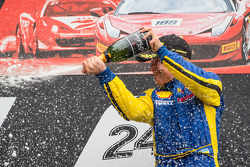 Podium: race winner Sergey Chukanov