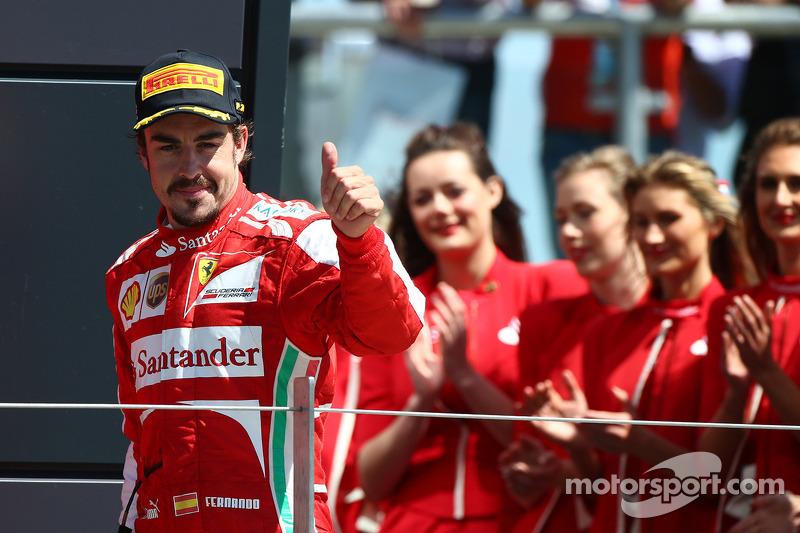 3e plaats Fernando Alonso, Ferrari F138
