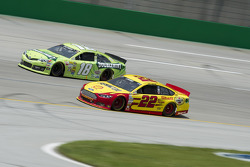 Joey Logano and Kyle Busch