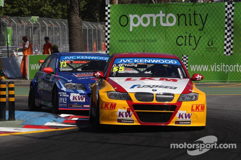 Darryl O'Young, BMW E90 320 TC, ROAL Motorsport voor Fredy Barth, BMW E90 320 TC, Wiechers-Sport