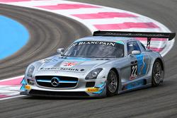 #22 Preci Spark: David Jones, Godfrey Jones, Morgan Jones, Mercedes SLS AMG GT3