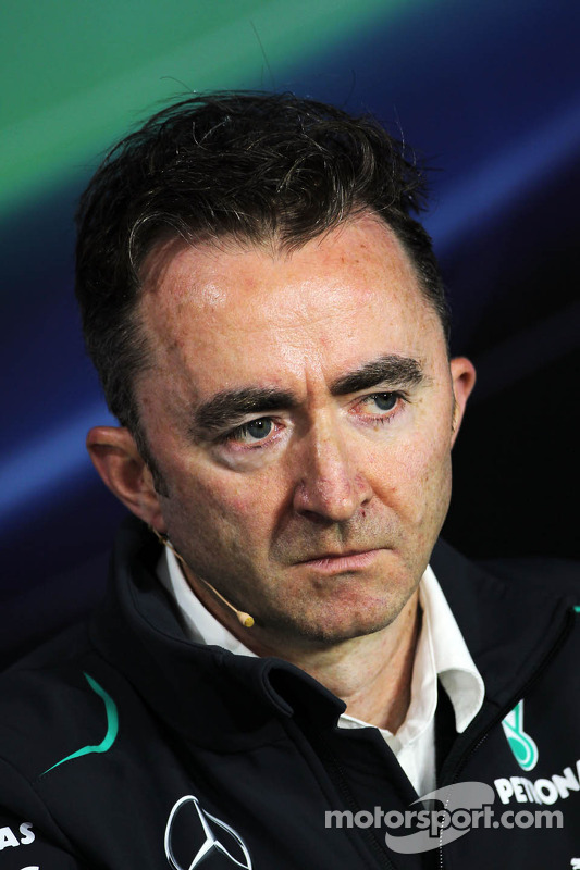 Paddy Lowe, Mercedes AMG F1 Executive Director, na coletiva da FIA