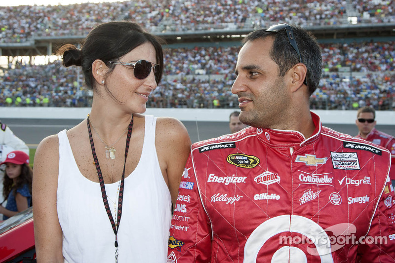 Juan Pablo Montoya and wife Connie Montoya