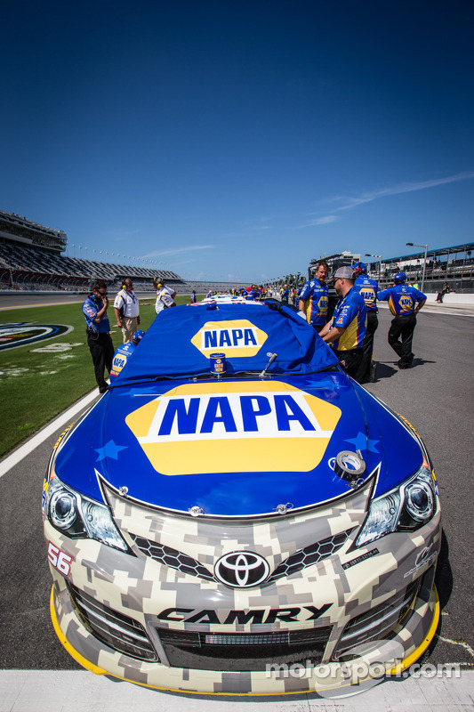 Carro de Martin Truex Jr., Michael Waltrip Racing Toyota