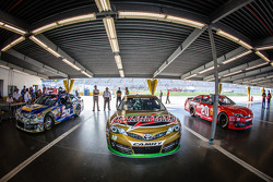 Pole winning car of Kyle Busch, Joe Gibbs Racing Toyota