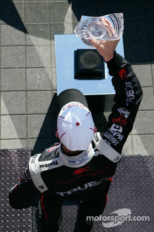 Sébastien Bourdais, Dragon Racing Chevrolet comemora