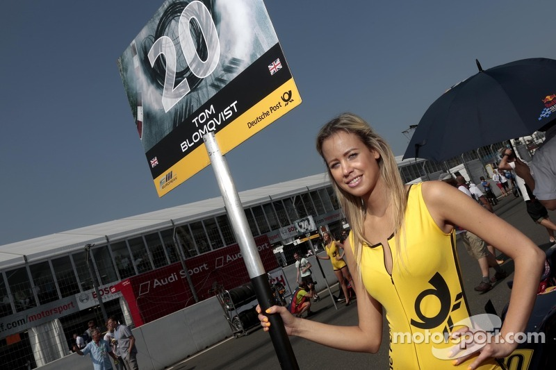 Grid girl van Tom Blomqvist