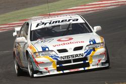 Ex David Leslie 1997 Super Touring Nissan Primera driven by Richard Hawken
