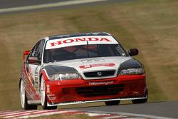 Ex Gabriele Tarquini 1997 Super Touring Honda Accord driven by Derek Hale