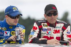 Ricky Stenhouse Jr. and Greg Biffle