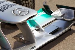 Mercedes MGP W02 Nose