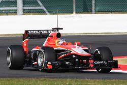 Tio Ellinas, Marussia F1 Team MR02 Test Pilotu