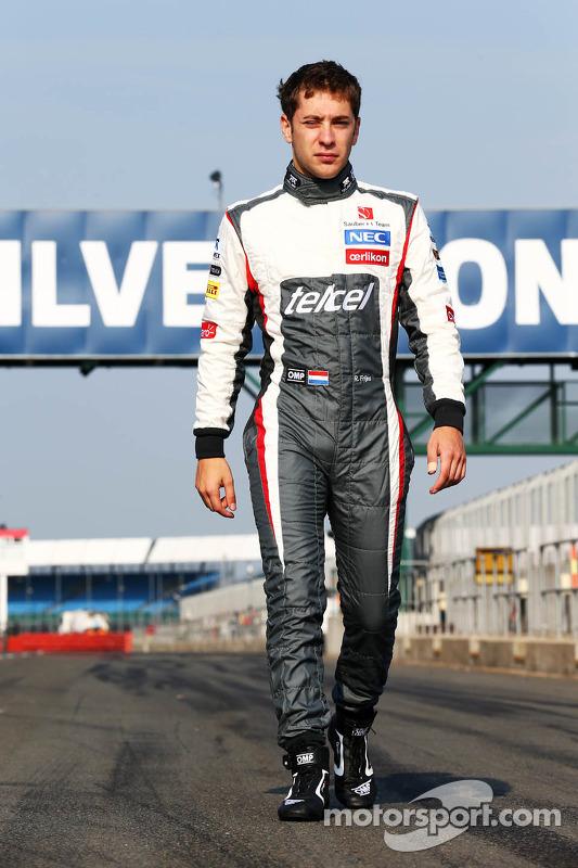 Robin Frijns, Sauber Piloto de testes e reserva