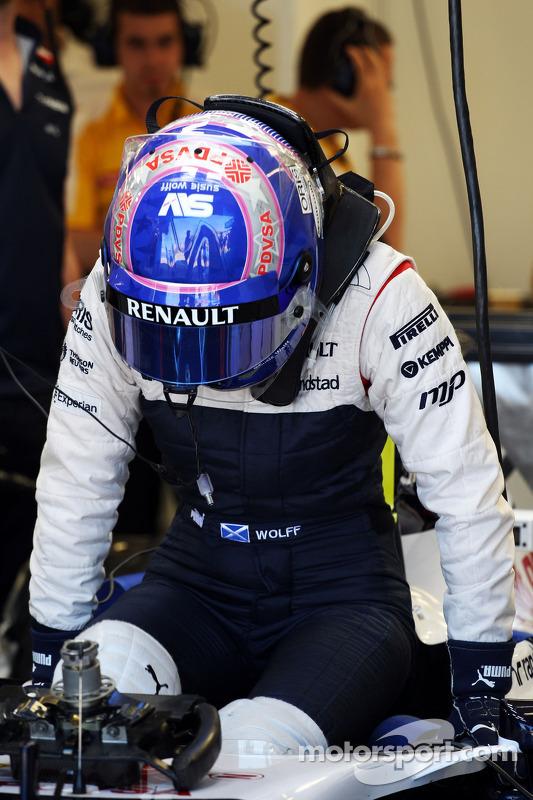 Susie Wolff, Williams FW35 piloto de desenvolvimento