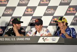 Cal Crutchlow, Monster Yamaha Tech 3, Marc Marquez, Repsol Honda Team, Valentino Rossi, Yamaha Factory Racing