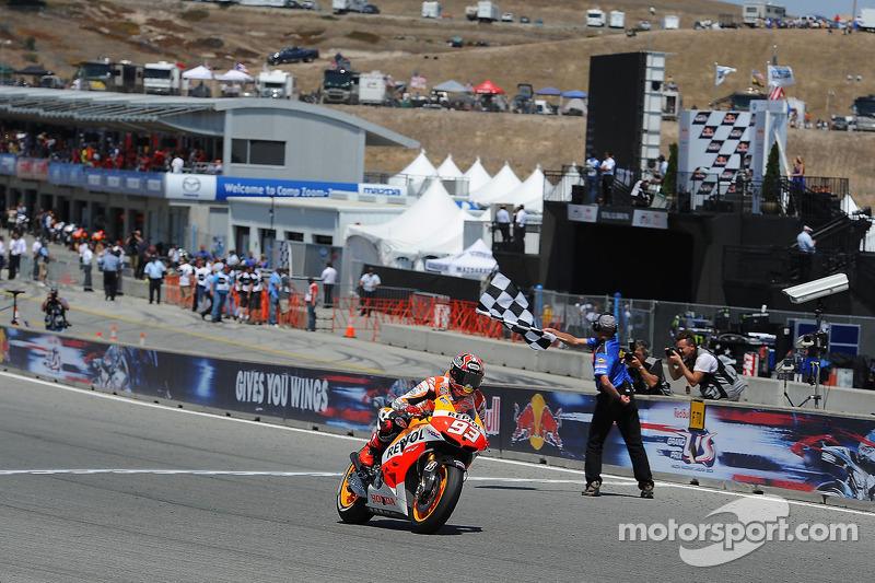 Marc Márquez, Repsol Honda Team se lleva la victoria