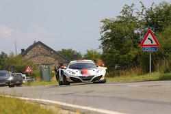 #12 ART Grand Prix McLaren MP4-12C: Yann Goudy, Gilles Vannelet, Gregoire Demoustier