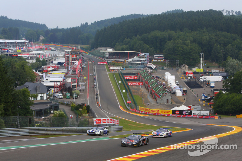 #88 Von Ryan Racing McLaren MP4-12C: Rob Barff, Chris Goodwin, Bruno Senna