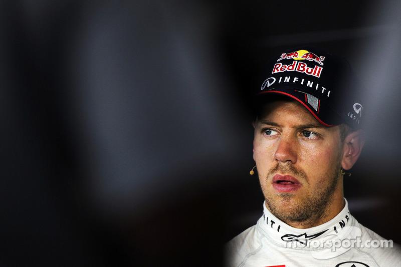 Sebastian Vettel, Red Bull Racing in the FIA Press Conference/