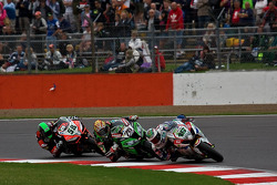 Jules Cluzel Leads Loris Baz and Eugene Laverty