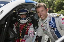 Mattias Ekström et Sébastien Ogier