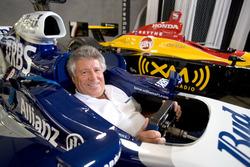Марио Андретти за рулем автомобиля Williams F1