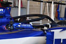 Sauber C36 with halo