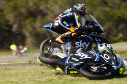Choque de Nicolo Bulega, Sky Racing Team VR46