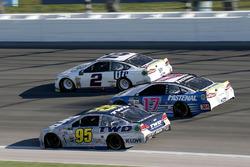 Michael McDowell, Leavine Family Racing Chevrolet Ricky Stenhouse Jr., Roush Fenway Racing Ford Brad Keselowski, Team Penske, Ford Fusion