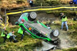 Авария: Язид Аль-Раджи и Майкл Орр, Ford Fiesta RS WRC, Yazeed Racing