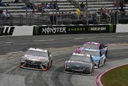 Кори Лажуа, BK Racing Toyota и Дэвид Рейган, Front Row Motorsports Ford